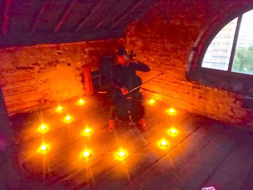 Attic Cello Candle