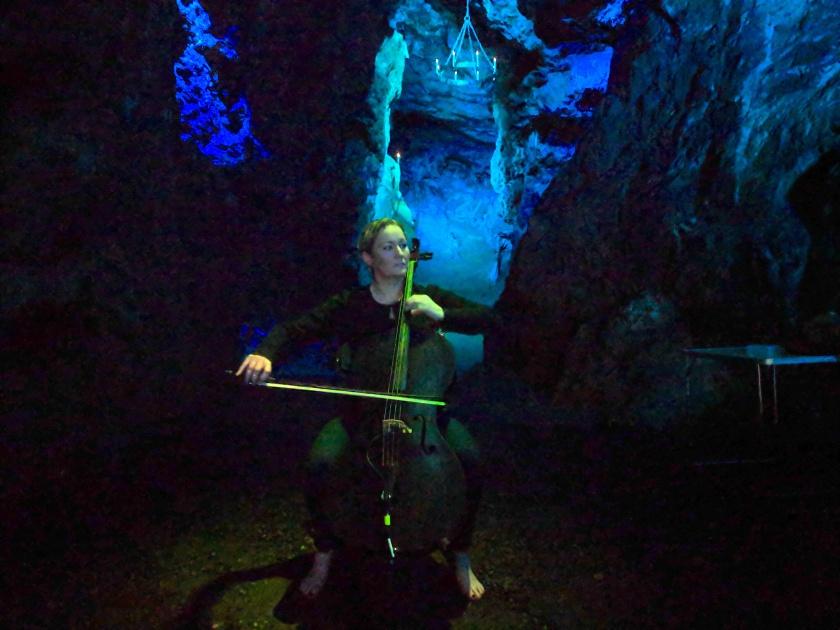 Cave Cello Blue