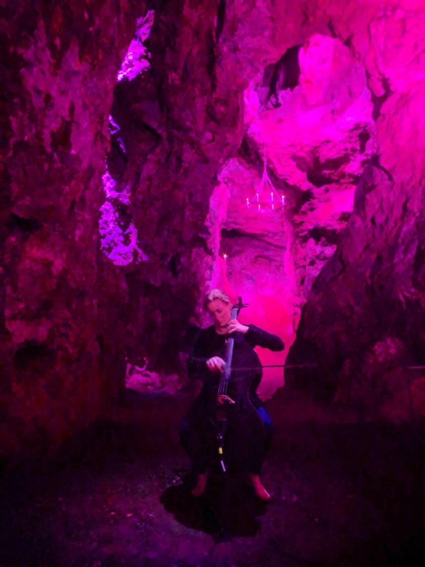 Cave Cello Neon